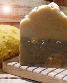 Lemongrass with Ginseng goats' milk soap